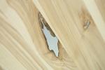 10 Stół S1 Jesionowy - sęki zaprawione cyną