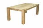 2 Stół S1 Jesionowy - sęki zaprawione cyną