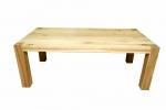 4 Stół S1 Jesionowy - sęki zaprawione cyną
