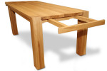 Stół dębowy S2 z dostawką