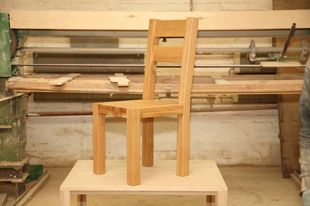 Stołki drewniane dębowe