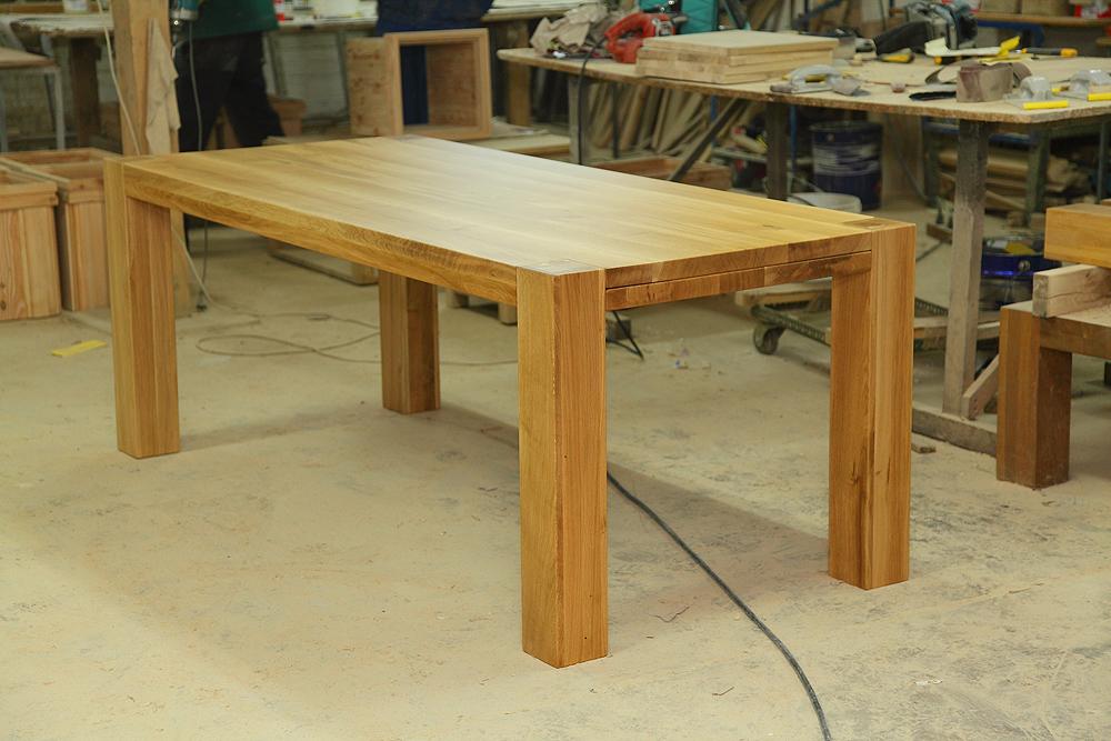 Stół Dębowy S1 Z Dostawkami