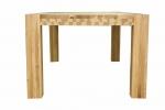 3 Stół S1 Jesionowy - sęki zaprawione cyną