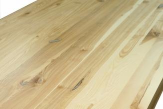5 Stół S1 Jesionowy - sęki zaprawione cyną