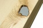 7 Stół S1 Jesionowy - sęki zaprawione cyną